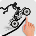 Stickman Racer Road Draw android