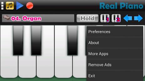 Скриншот Real Piano - Фортепиано