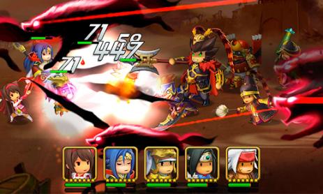 Скриншот Kingdom Story: Brave Legion