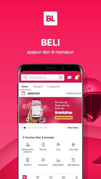 Bukalapak – Jual Beli Online скачать на Андроид бесплатно