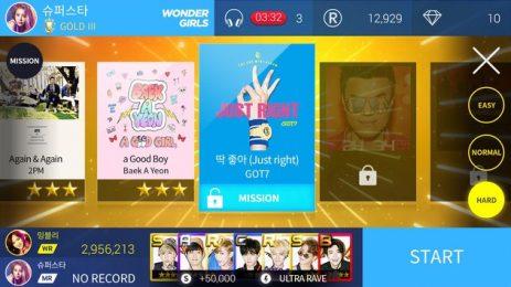 Скриншот SuperStar JYPNATION 1