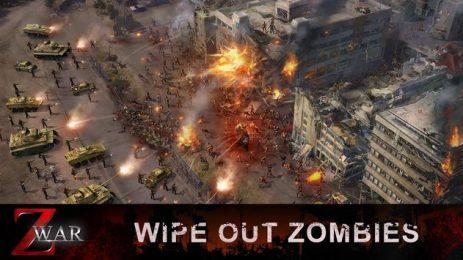 Скриншот Z War-Zombie Modern Combat