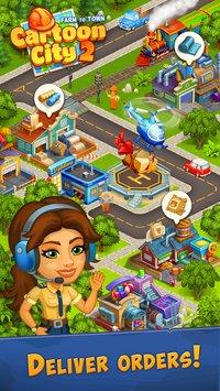 Скриншот Cartoon city 2 : ферма и город