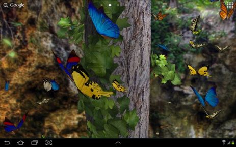 Живые обои на андроид бабочки скачать бесплатно 8