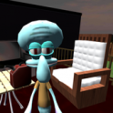Hello Squidward. Sponge Bob's Neighbor 3D