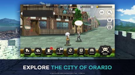 Скриншот DanMachi
