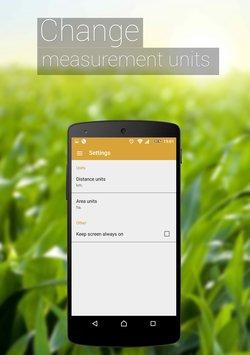 Скриншот GPS Измерение площади полей