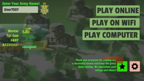 Скриншот Army Men Online
