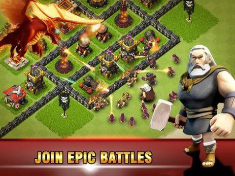Скриншот Era of War:Clash of epic Clans