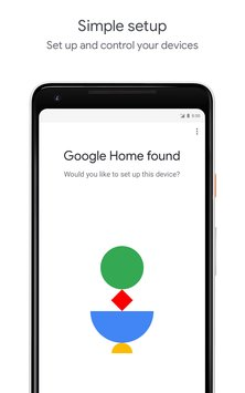 Скриншот Google Home