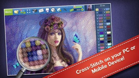 Скриншот Cross-Stitch World