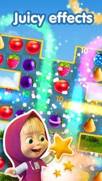 Скриншот Маша и Медведь Игры Три в ряд Аркады без интернета