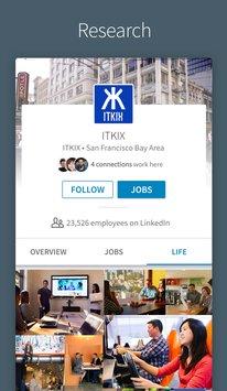 Скриншот LinkedIn
