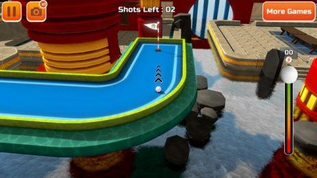Скриншот Мини-гольф 3D Городские