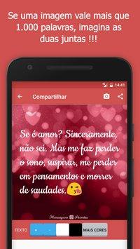 Скриншот Mensagens Prontas para celular