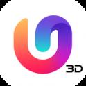 U Launcher 3D - тема для Android, живые обои android