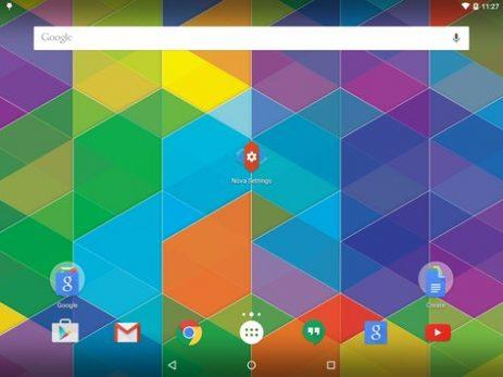 Скриншот Nova Launcher