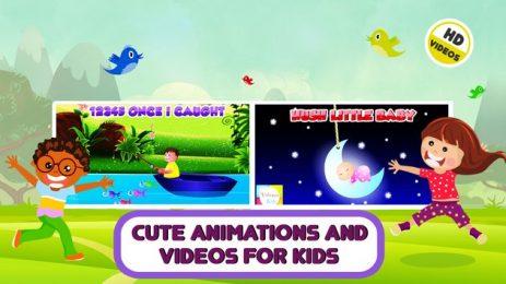 offline nursery rhymes videos