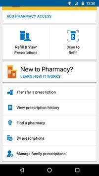 Скриншот Walmart
