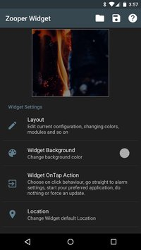 Zooper Widget 2 60 download on Android free   Captain Droid