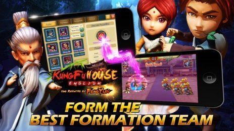 Скриншот Kung Fu House-english