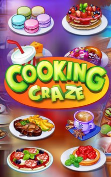 Скриншот Cooking Craze – A Fast & Fun Restaurant Chef Game