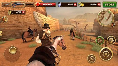 Скриншот Огонь с Запада