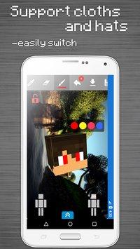 Скриншот Skins Editor for Minecraft PE