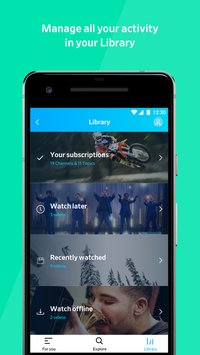 Скриншот Dailymotion: Explore and watch videos