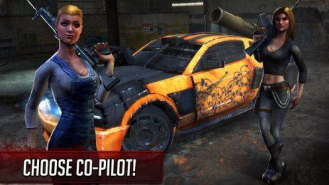 Скриншот Death Race ® - Shooting Games in Racing Cars