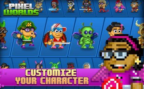 Скриншот Pixel Worlds