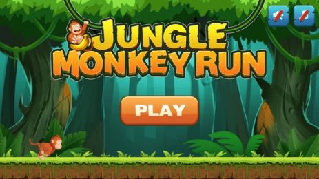 Скриншот Jungle Monkey Run