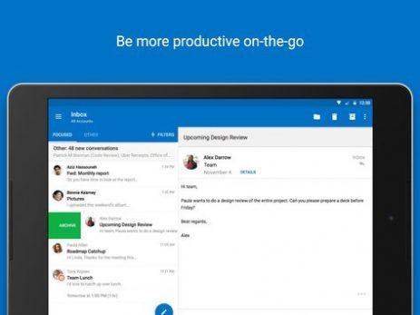 Скриншот Microsoft Outlook