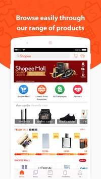 Скриншот Shopee - ซื้อขายออนไลน์