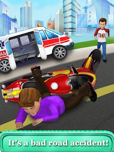 Скриншот Детская больница скорой помощи
