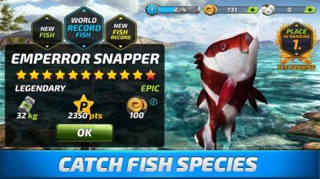 Скриншот Fishing Clash: Catching Fish Game. Hunting Fish 3D