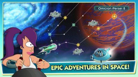 Скриншот Futurama Worlds of Tomorrow