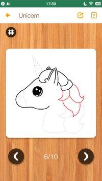 Скриншот Kawaii Easy Drawing : How to draw Step by Step