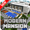 New Modern Mansion Map for Minecraft PE