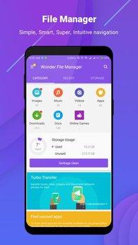 Скриншот Wonder File Manager