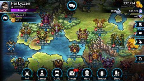 Скриншот Gems of War
