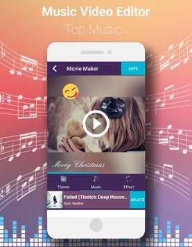 Скриншот Video Editor With Music