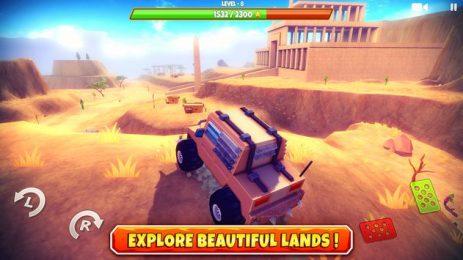 Скриншот Zombie Offroad Safari