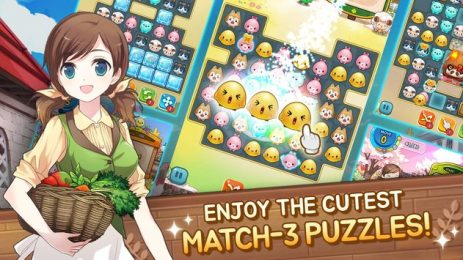 Скриншот Everytown Sweet: Match 3 Puzzle