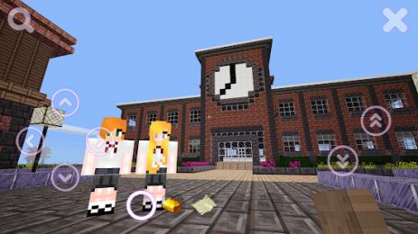 Скриншот Schoolgirls Craft