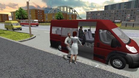 Скриншот Minibus Simulator 2017