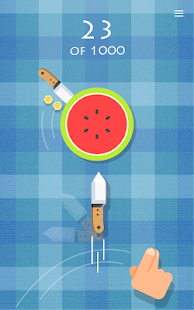 Скриншот Knife vs Fruit: Just Shoot It!