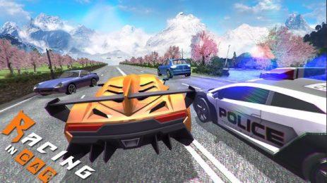 Скриншот Racing In Car 3D