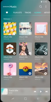 Скриншот Samsung Music 0