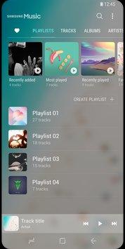 Скриншот Samsung Music 1